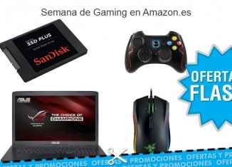 Semana de Gaming en Amazon con ofertas flash
