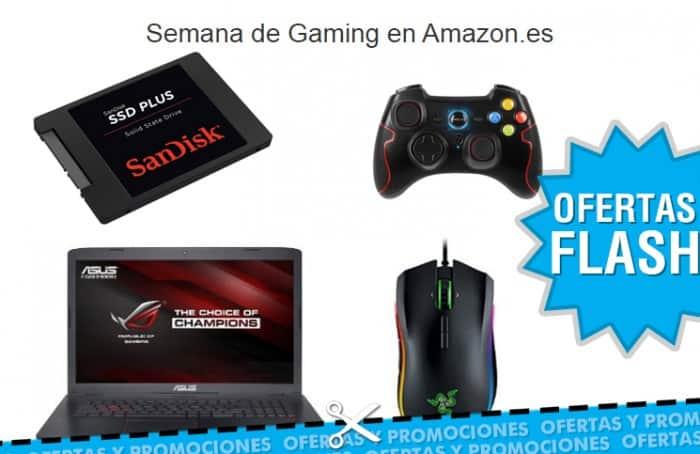 Semana de Gaming en Amazon con ofertas flash