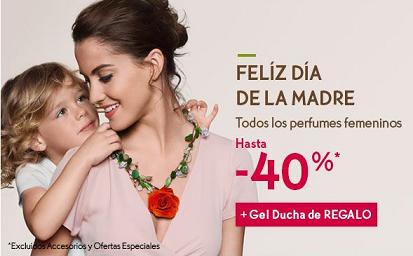 Perfumes rebajados un 40% en Yves Rocher