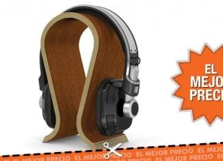 Oferta Soporte para Auriculares de madera al mejor precio