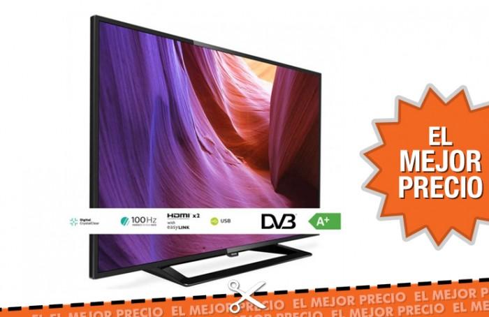 TV Philips PHH 4100 HD USB SLIM al mejor precio