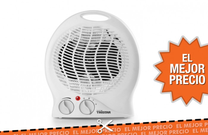 Oferta Calefactor eléctrico y ventilador Tristar KA-5039 al mejor precio