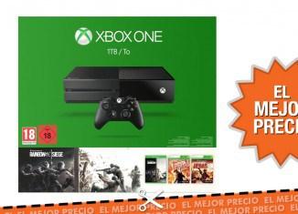 Oferta Xbox One - Consola 1 TB + Tom Clancy's Rainbow Six: Siege