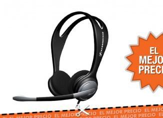 Oferta Auriculares de diadema con micrófono Sennheiser PC 131 al mejor precio
