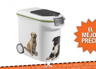 Oferta contenedor para pienso de mascotas Curver de 12 Kg al mejor precio