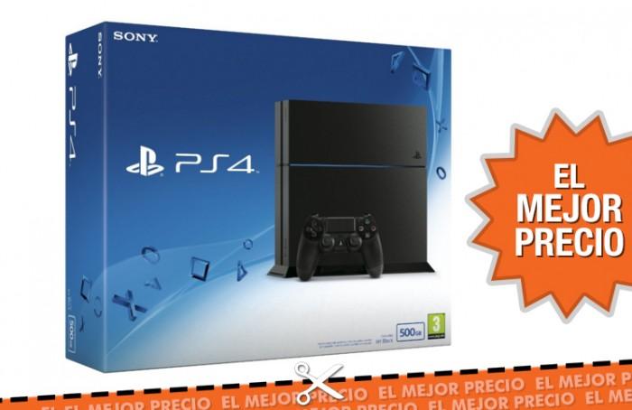 Oferta PS4 al mejor precio