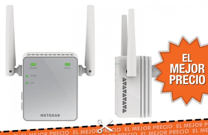 Oferta extensor de red WiFi N300 Netgear EX2700-100PES al mejor precio
