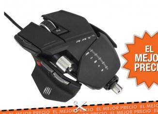 Oferta raton gamer Mad Catz R.A.T. 5 al mejor precio