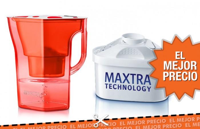 Oferta jarra de agua Brica con filtro al mejor precio