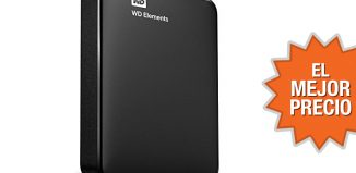 Oferta disco duro externo de 2TB WD Elements al mejor precio
