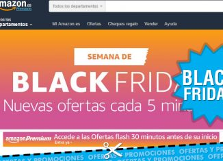Semana Black Friday en Amazon con ofertas flash