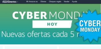 Cybermonday de Amazon con ofertas flash cada 5 minutos