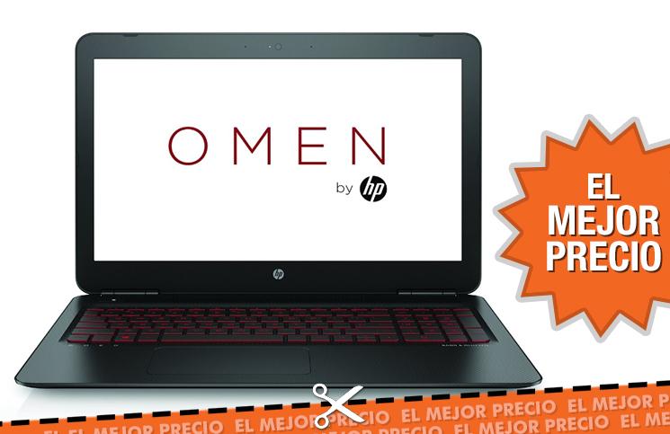Oferta pc portátil HP OMEN 15-ax001ns al mejor precio