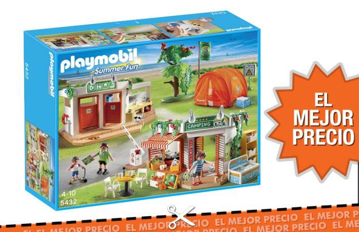 Oferta Campamento Playmobil al mejor precio