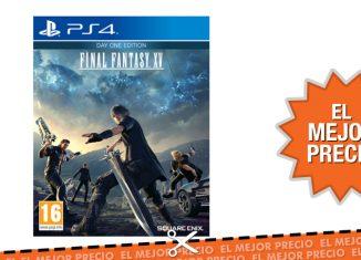 Oferta Final Fantasy XV PS4 al mejor precio