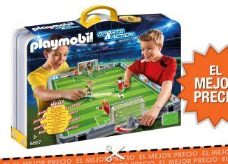 Oferta Set de fútbol de Playmobil al mejor precio