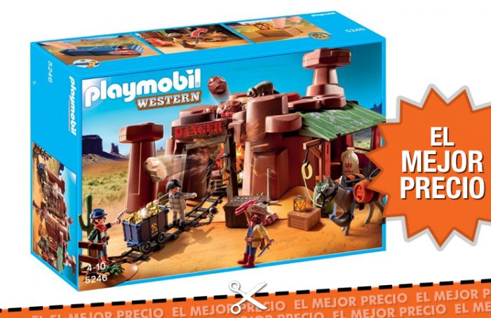 Oferta mina de Playmobil Oeste al mejor precio