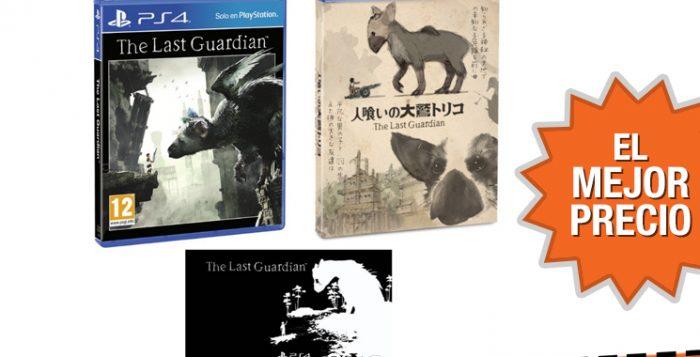 Oferta The Last Guardian para PS4 edición especial al mejor precio