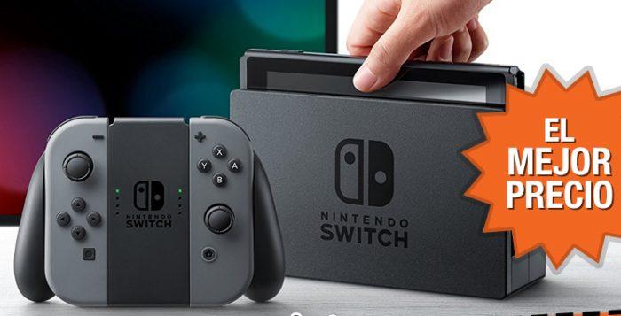 Reserva ya la Nintendo Switch al mejor precio