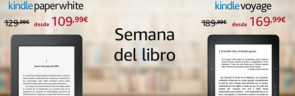 Semana del Libro en Amazon con ebooks rebajados