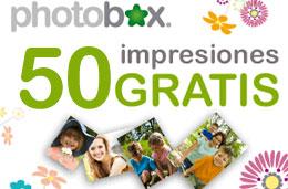 50 fotos impresas completamente gratis en Photobox gracias a su promoción de nuevos clientes y con tan sólo daros de alta
