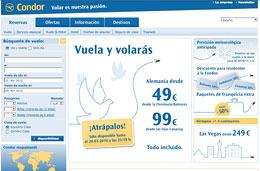 'Más chollos para volar con la promoción 'Vuela y volarás' de la aerolínea Condor y con precios desde 49€ para volar a Europa, válido hasta 17-Abril-2010