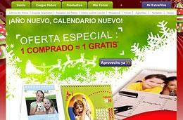 Codigo promocional ExtraFilm de un 2x1 en la compra de calendarios fotográficos impresos, válido hasta 30-Noviembre-2009