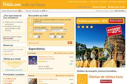 Codigo promocional Hotels.com para tener un 10% de descuento adicional en las reservas de hoteles a través de su web, válido hasta 17-Enero-2010