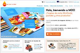 Codigo promocional Moo.com para tener gastos de envío gratis en cualquiera de vuestros pedidos, válido hasta 16-Noviembre-2009