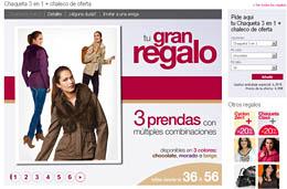 Chaqueta 3 en 1 de regalo (chaqueta, chaleco acolchado, chaleco de pelo) en Venca sólo pagando los gastos de envío