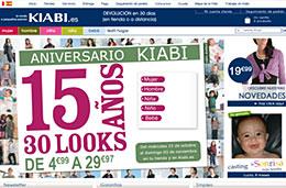 Kiabi  Código promocional 50% de descuento en el segundo artículo codigo descuento oferta