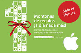 AppleStore Apple Store Dia de ofertas codigo promocional descuento