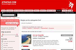 Más viajes 2x1 a Canarias, Túnez, Cuba, Brasil, Punta Cana Riviera Maya o Jamaica ahora con Atrapalo.com