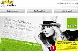 Spotify gratis durante 6 meses con el operador de telefonía móvil MÁSmovil