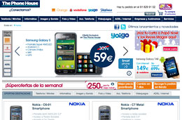 Ofertas portabilidades The Phone House: Samsung Galaxy S al mejor precio con Yoigo