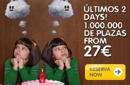 Vuelos economicos en Vueling.com: Billetes baratos a 27 euros