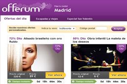 Compras colectivas y descuentos en Offerum.com