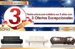 Codigos promocionales en Venta Única para tener descuentos adicionales con motivo de su 3er aniversario