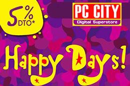 Happy Days PC-City con Ofertas y Descuentos por tiempo limitado