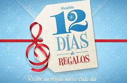 12 días de regalos, da comienzo la app de iPhone e iPad con contenidos gratis cada día estas navidades