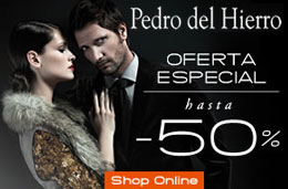 Codigo promocional de un -10% extra para la tienda online de Pedro del Hierro aplicable a sus rebajas actuales de hasta el 50%
