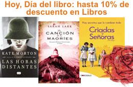Ofertas Dia del Libro en Amazon