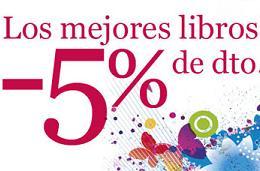 Descuentos en libro del 5% y del 60% en complementos en La Casa del Libro