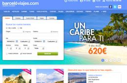 Codigos promocionales para Barceló Viajes de un -8% en Hoteles y un -5% en Vuelo+Hotel, Viajes y Cruceros