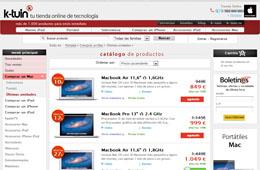 Descuentos de hasta el 30% en ordenadores Mac en la tienda K-Tuin