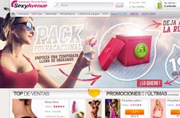 Codigo promocional en SexyAvenue para tener un 10% de ahorro adicional en toda la web
