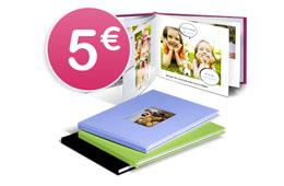 Código promocional en Photobox para tener un su album de fotos Lujo con vuestras fotos impresas por 5€