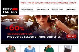 Promocion de Fifty Factory, -60% en Cortefiel