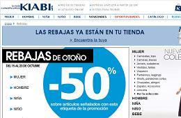 Rebajas de Otoño en Kiabi con descuentos de hasta el 50%