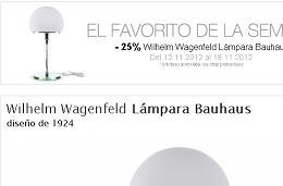 Rebajas 25% Infurn lámpara Bauhaus